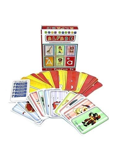 Bunjoy Flash Cards Alfabe 1178 ( Diy-Toy Yayınları) Renkli